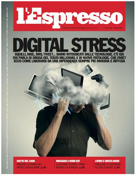 copertina espresso digital stress